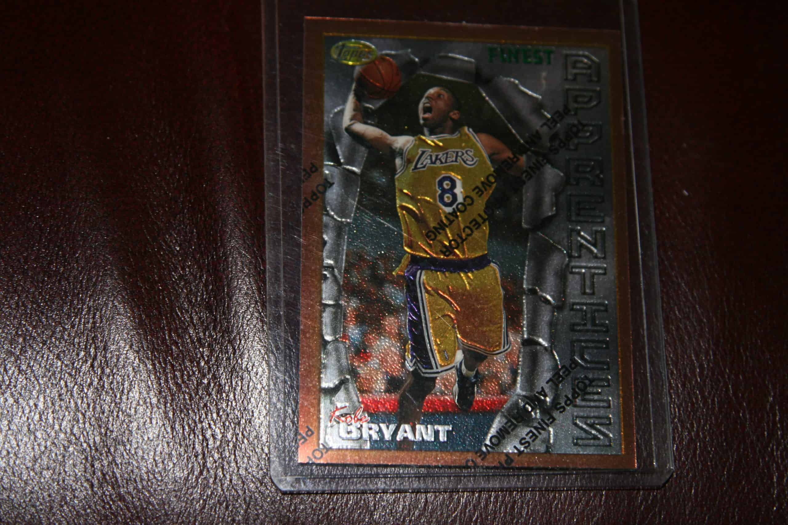 KOBE BRYANT TOPPS FINEST ROOKIE CARD GEM MINT