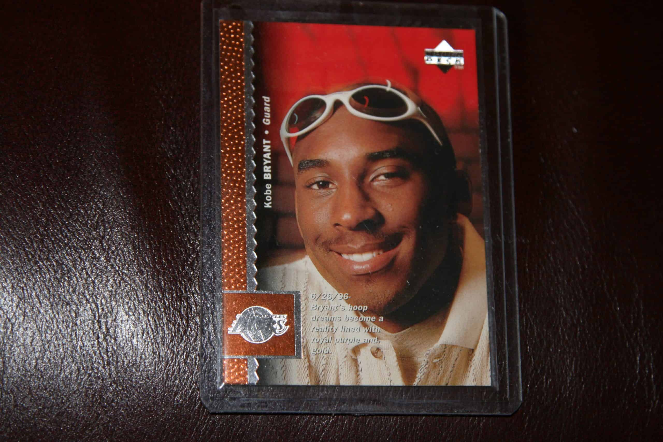 Kobe Bryant Upper Deck Card Ace Rare Collectibles