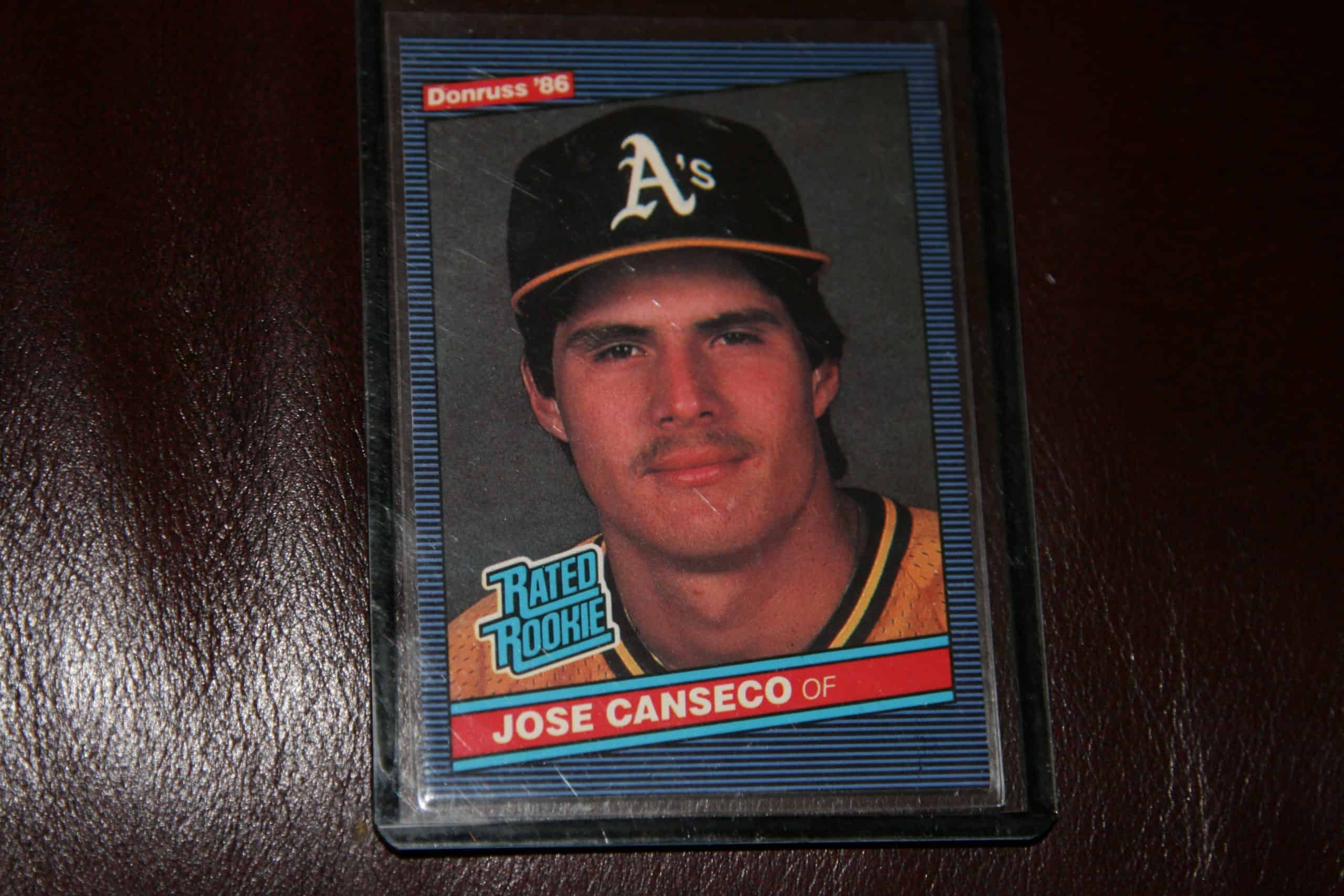 Jose Canseco Rated Rookie Card Ace Rare Collectibles