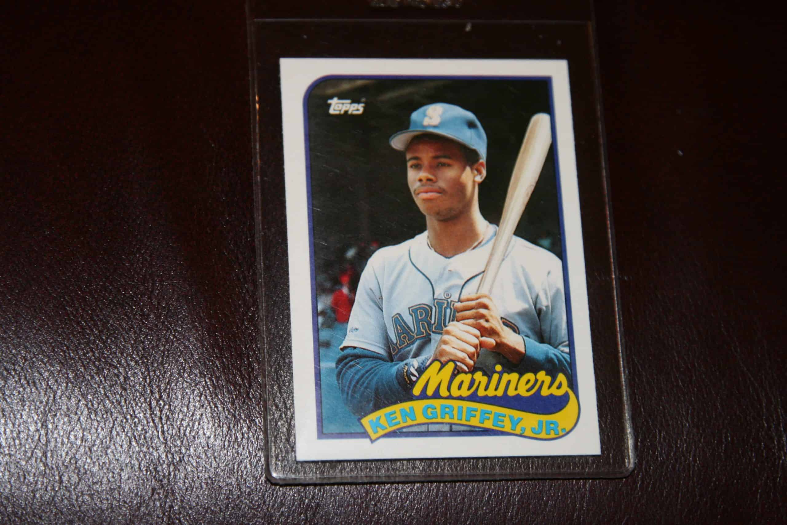 Ken Griffey Jr Topps Rookie Card Ace Rare Collectibles