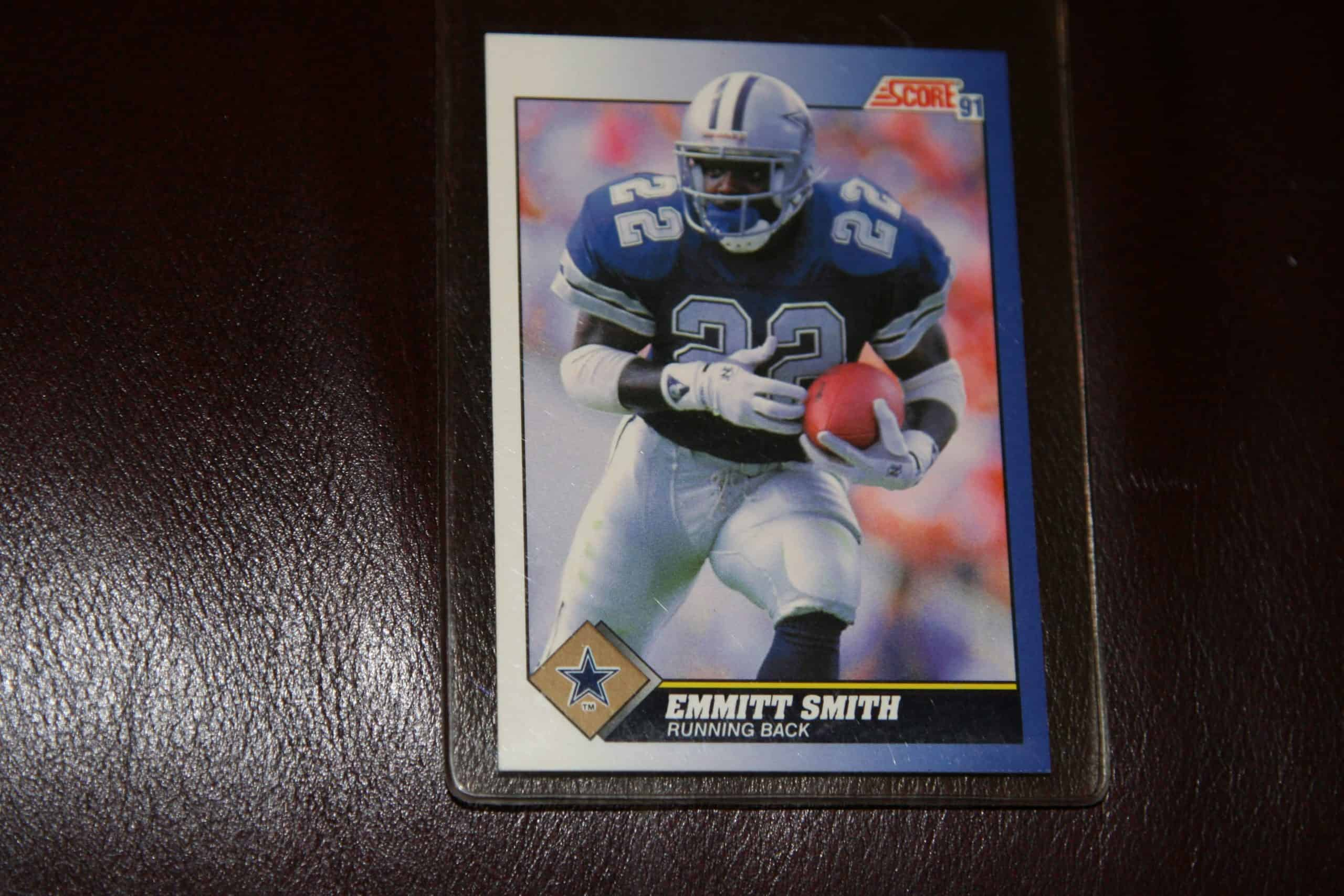 Emmitt Smith Score Rookie Card Ace Rare Collectibles