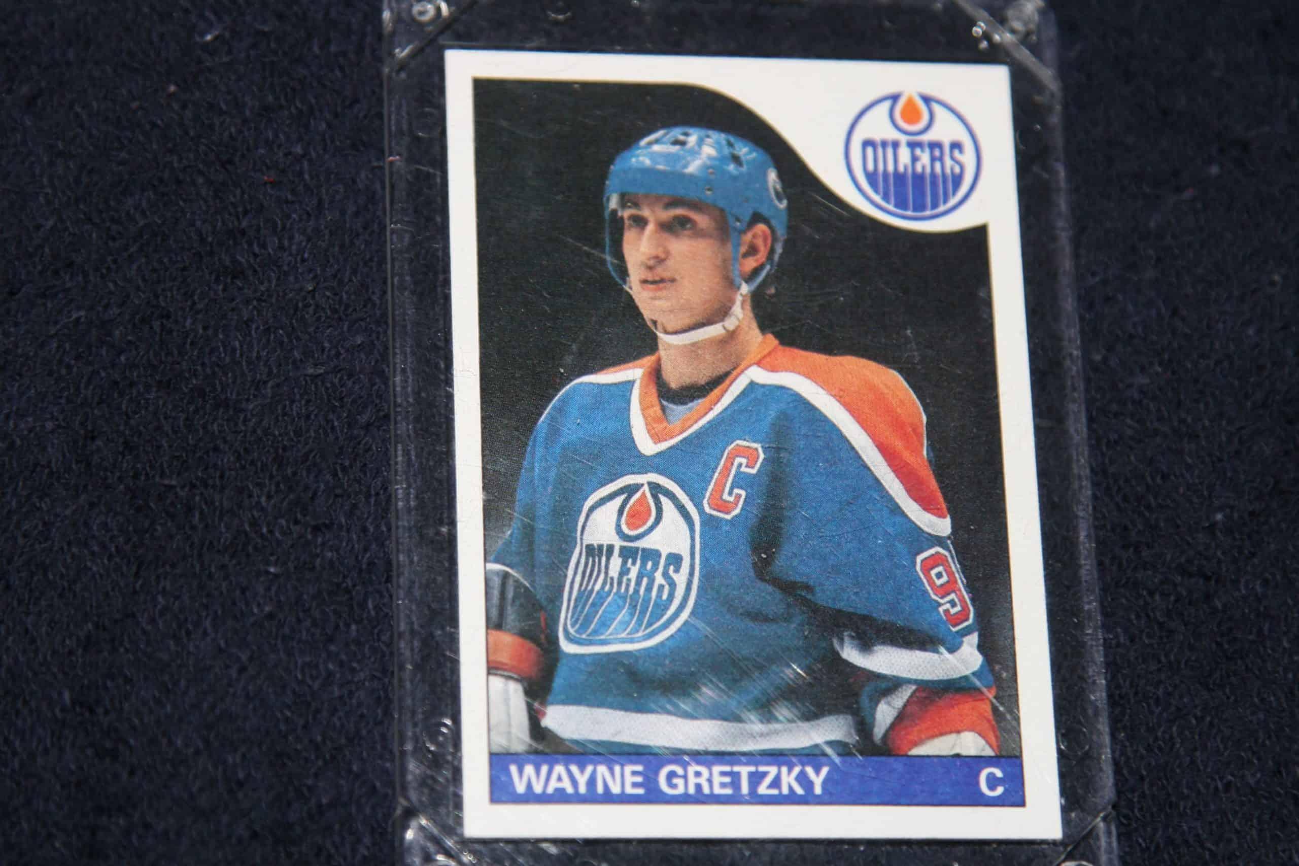 Wayne Gretzky Topps Rookie Card Gem Mint Ace Rare Collectibles