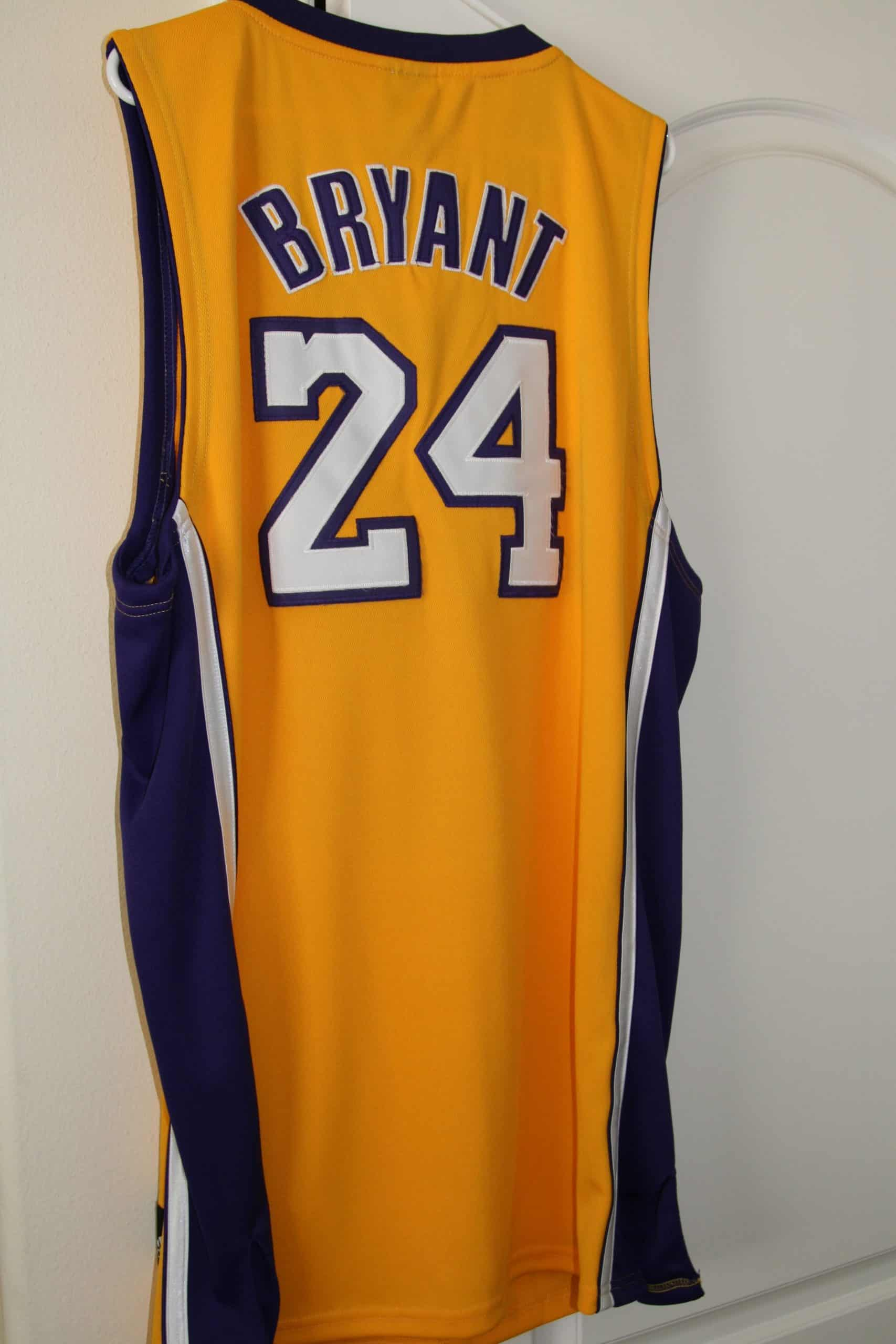 uk availability 7df7e 1e02f KOBE BRYANT AUTHENTIC GAME WORN NBA JERSEY, ACE RARE ...