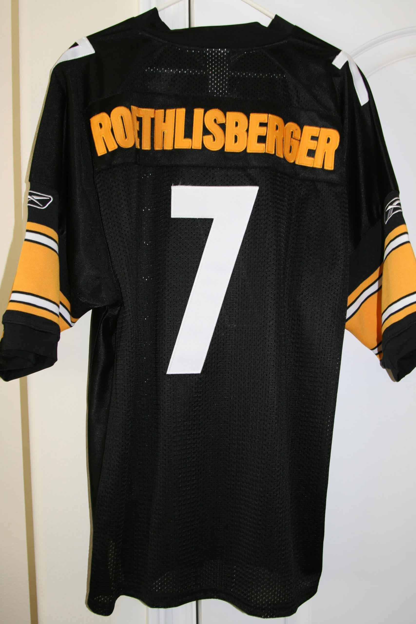 ben roethlisberger game worn jersey