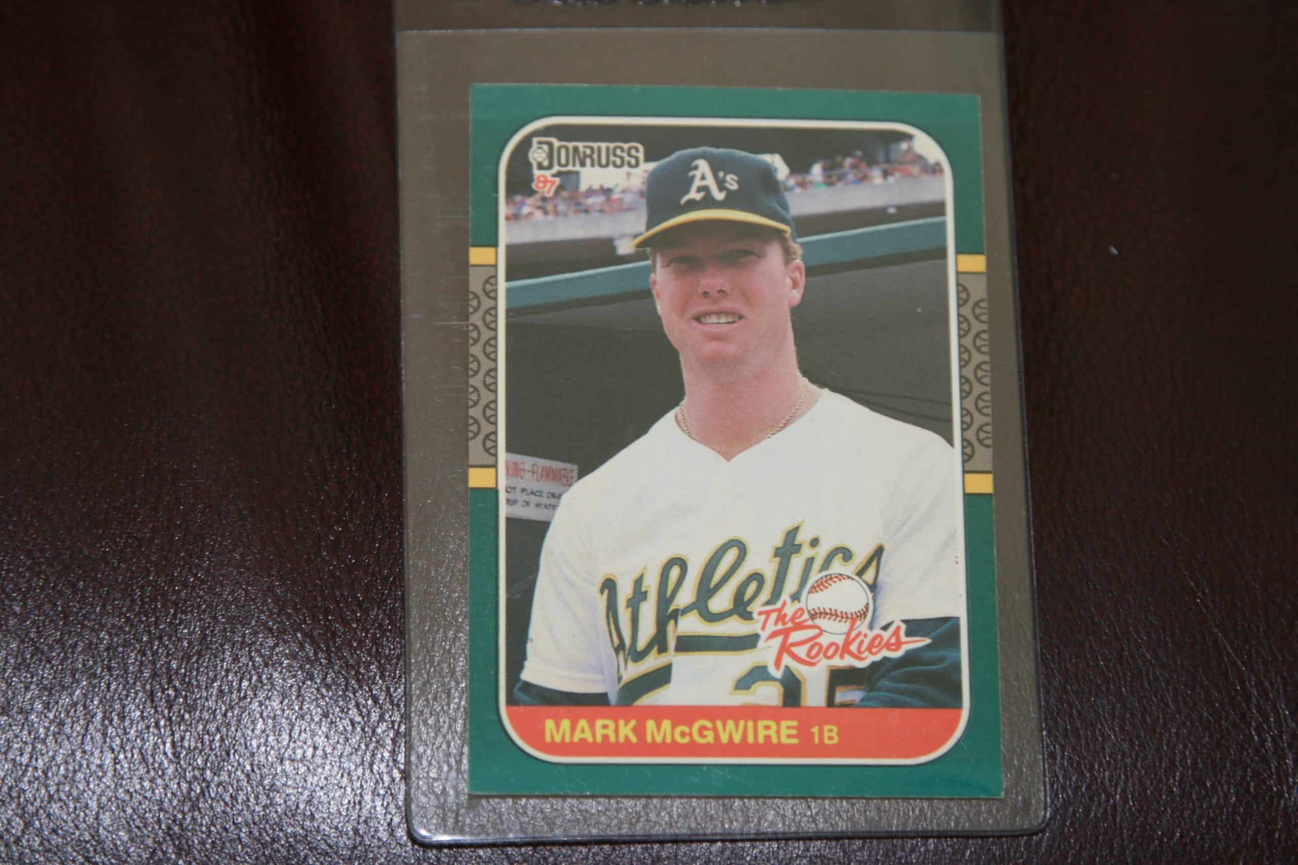 Mark Mcgwire Donruss Rookie Card Ace Rare Collectibles