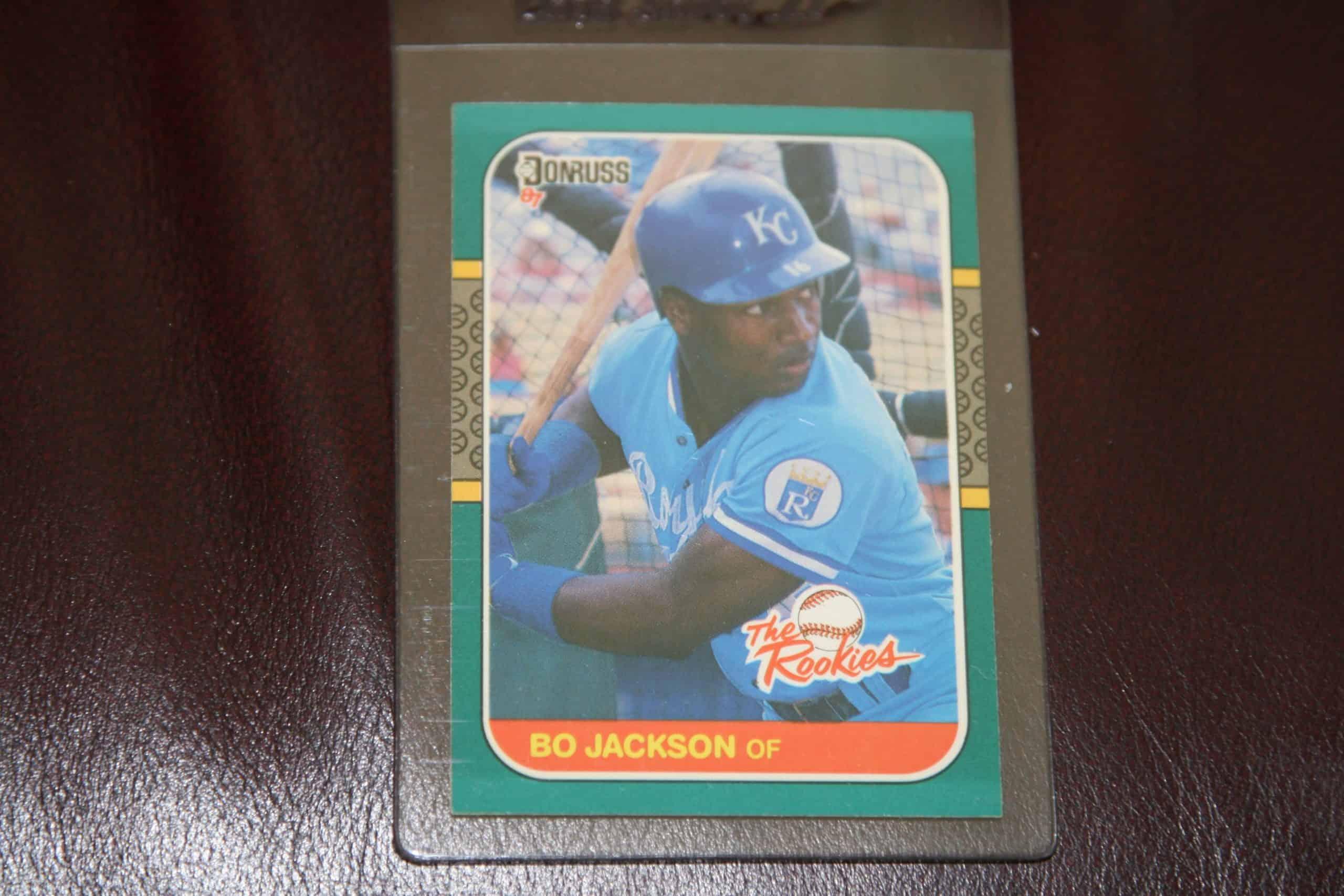 Bo Jackson Donruss Rookie Card Ace Rare Collectibles