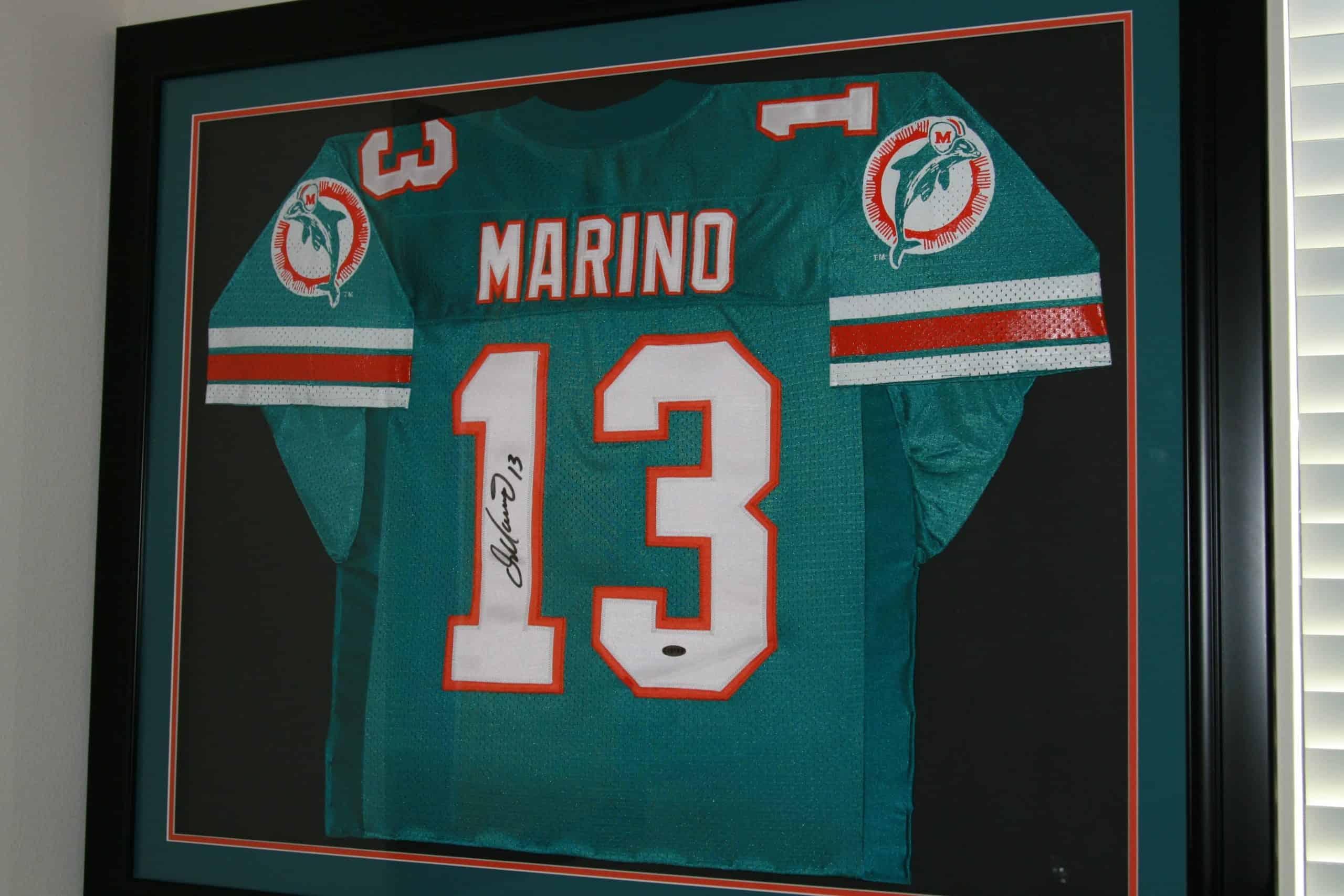 5a075ffc8 DAN MARINO Autographed NFL Jersey PRO BOWL SEASON