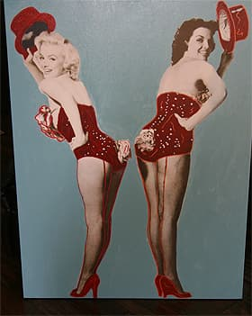"STEVE KAUFMAN ""GENTLEMEN PREFER BLONDES"""