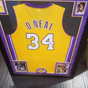 Shaquille O'Neal Autographed