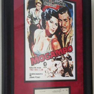 Clark Gable Mozambique Poster
