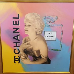 Steve Kaufman original Marilyn Monroe oil on canvas