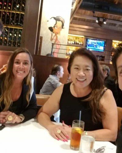 Adam West, Stephanie Wilder, Annie Chen