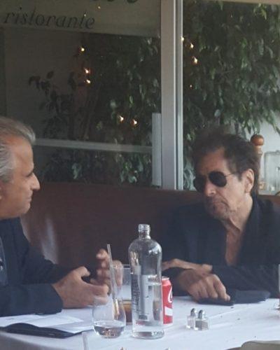 Martin Scorsece  and Al Pacino