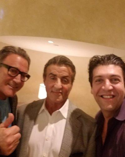 John Stallone and Sylvester Stallone