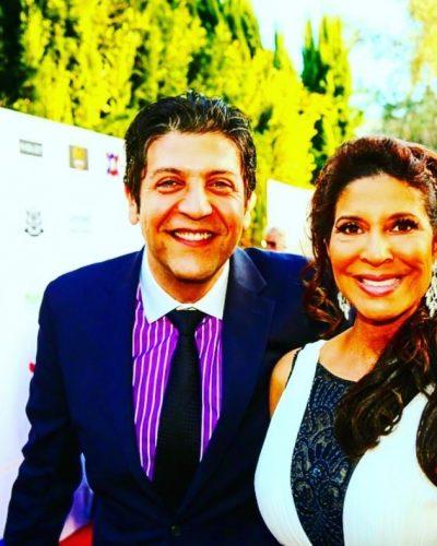 Luca B  and Christine Devine